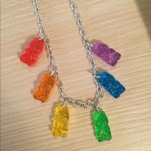 Justice Necklace Gummy Bears